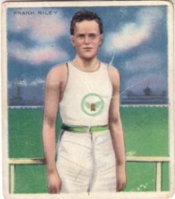 Frank Riley 1910 Mecca T218 tobacco card
