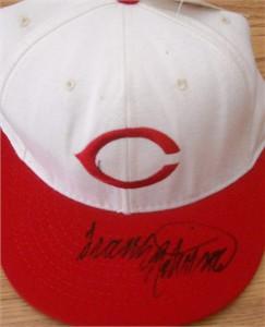 Frank Robinson autographed 1957 Cincinnati Reds cap or hat