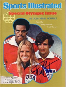 Frank Shorter autographed 1976 Olympics Sports Illustrated