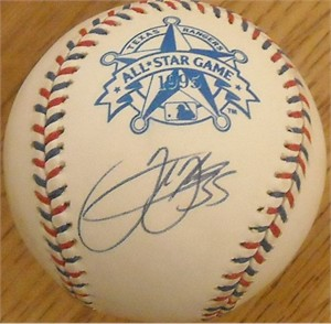 Frank Thomas autographed 1995 All-Star Game baseball