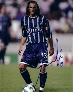 Frankie Hejduk autographed MLS Tampa Bay Mutiny 8x10 photo