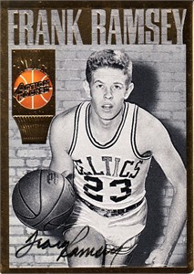 Frank Ramsey certified autograph Boston Celtics Action Packed Hall of Fame card