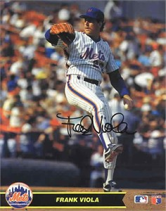 Frank Viola autographed New York Mets 8x10 photo