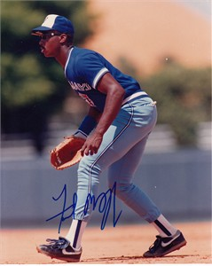 Fred McGriff autographed Toronto Blue Jays 8x10 photo