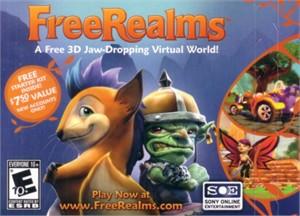 Free Realms Sony Online starter kit