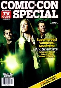 Fringe 2010 Comic-Con TV Guide magazine (Joshua Jackson John Noble Anna Torv)