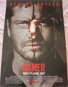 Gamer 13x20 mini movie poster (Gerard Butler)