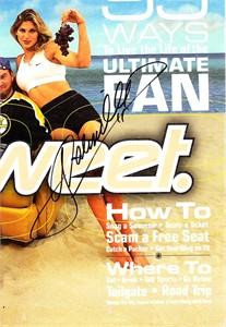 Gabrielle Reece autographed magazine photo