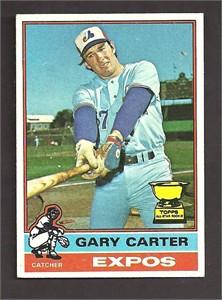 Gary Carter 1976 Topps card #441 Ex