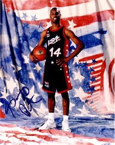 Gary Payton autographed USA Basketball 8x10 photo