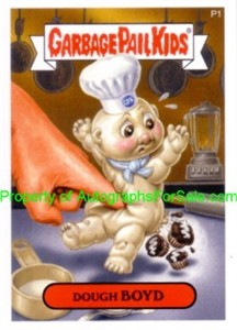 Garbage Pail Kids Series 7 2007 Topps promo sticker card P1 (Dough Boyd)