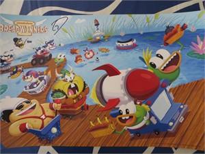 Gary Doodles DiRaffaele autographed Breadwinners 2015 Comic-Con mini poster