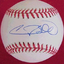 Gary Sheffield autographed National League baseball