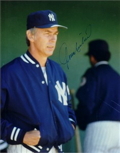 Gene Michael autographed New York Yankees 8x10 photo