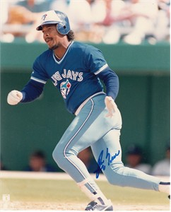 George Bell autographed Toronto Blue Jays 8x10 photo