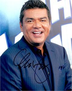 George Lopez autographed 8x10 photo