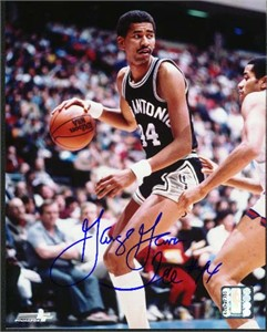 George Gervin autographed San Antonio Spurs 8x10 photo