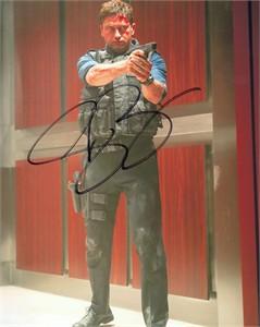 Gerard Butler autographed Olympus Has Fallen 8x10 photo