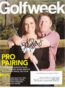 Gerina Piller autographed 2015 Golfweek magazine