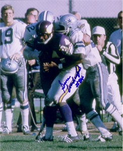 Gene Washington autographed 8x10 Minnesota Vikings photo