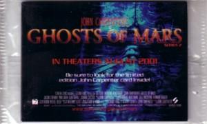 Ghosts of Mars movie 2001 Series 2 promo card set