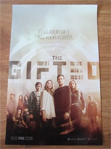 Gifted 2017 Comic-Con Fox Marvel 11x17 mini poster (Stephen Moyer Amy Acker)