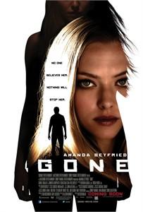 Gone mini movie poster (Amanda Seyfried)