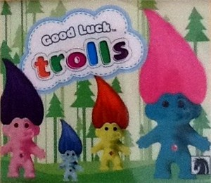 Good Luck Trolls 2013 Comic-Con Dark Horse Comics promo sticker