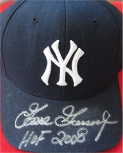 Goose Gossage autographed New York Yankees cap or hat inscribed HOF 2008