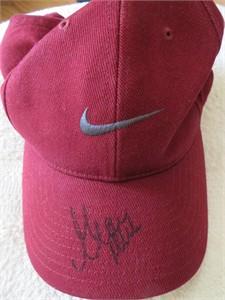 Grace Park autographed Nike golf cap or hat