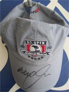 Graeme McDowell autographed 2010 U.S. Open golf cap or hat