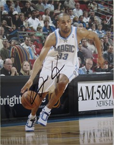 Grant Hill autographed Orlando Magic 11x14 photo