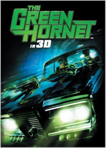 Green Hornet in 3D movie 2010 Comic-Con Rittenhouse promo card