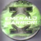 Green Lantern Emerald Warrior 2011 Comic-Con promo button or pin
