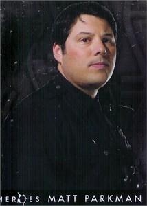 Greg Grunberg (Matt Parkman) 2007 Topps Heroes foil insert card