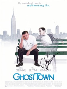 Greg Kinnear autographed Ghost Town 8x10 photo