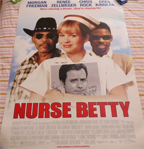 Greg Kinnear autographed Nurse Betty full size 27x40 movie poster
