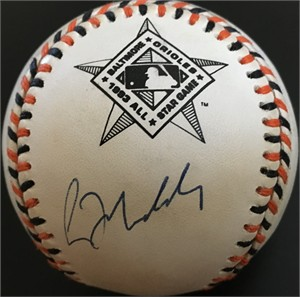 Greg Maddux autographed 1993 All-Star Game baseball