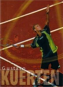 Gustavo Kuerten 2000 ATP Tour card RARE