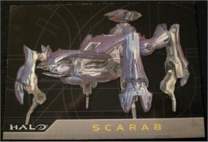 Halo 2007 Topps promo card P2 (Scarab)