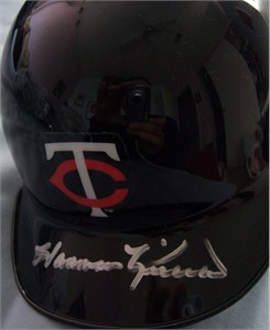 Harmon Killebrew autographed Minnesota Twins mini helmet