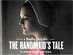 The Handmaid's Tale 2017 Emmy Awards Hulu promo 24 page 7.5x10 inch booklet (Elisabeth Moss)