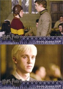 Harry Potter & the Half-Blood Prince album or binder exclusive promo cards 4 & 5