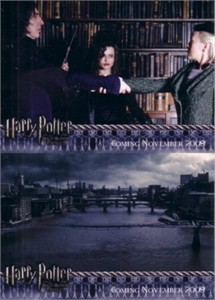 Harry Potter & the Half-Blood Prince Update album or binder promo cards 4 & 5
