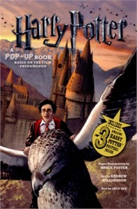 Harry Potter Popup Book 2010 Comic-Con 4x6 promo card