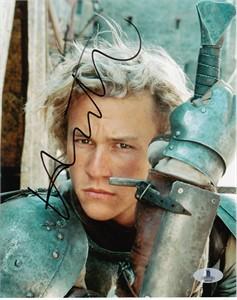 Heath Ledger autographed A Knight's Tale 8x10 movie photo JSA LOA