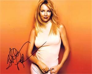 Heather Locklear autographed 8x10 photo