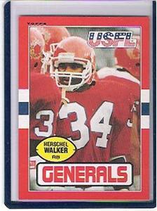 Herschel Walker 1985 Topps USFL card #86 NrMt-Mt