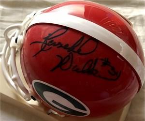 Herschel Walker autographed Georgia Bulldogs mini helmet (JSA)
