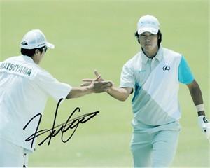 Hideki Matsuyama autographed 2014 Memorial 8x10 photo